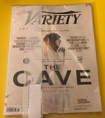 Variety November 5, 2019w/ How To Train Your Dragon Insert Brand New
