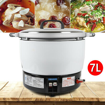 Commercial 35 Cups Pressure Rice Cooker 5.6KW Nature Gas Rice Cooker Cook 7L
