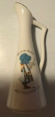 Vintage Holly Hobbie Bud Vase