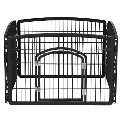Pet Playpen For Small Dogs Puppies Indoor Outdoor Exercise Portable 4 Panel Gate