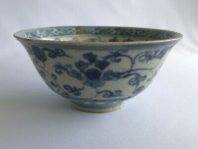 Chinese 15th Century Ming Chenghua 成化 Period Floral Motif Bowl