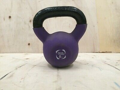 8KG Neoprene Kettlebell Cast Iron Weight Home Gym Strength Training Kettlebells