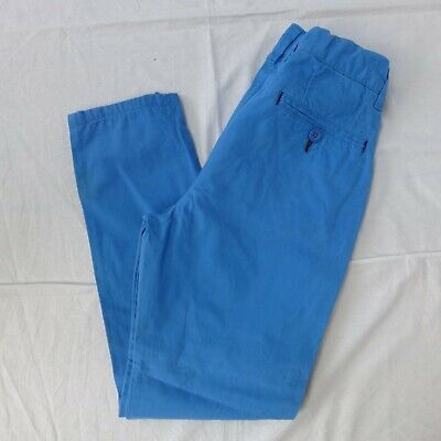 Boys NEXT blue chino trousers age 11 years