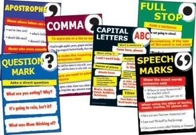 Introducing Punctuation Charts (set of 6)
