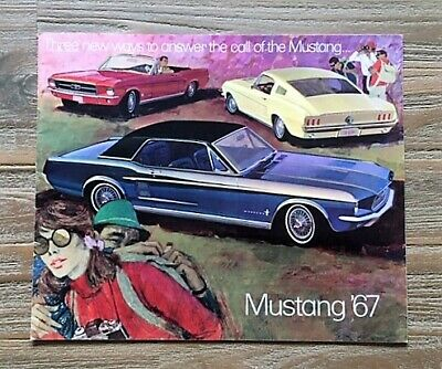 Ford Mustang  1967 Brochure