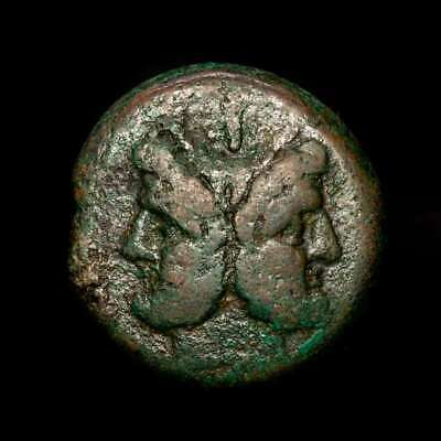 *Lucernae* Roman Republic Anonymous Æ As (39.46 g) Prow Rome 211 B.C.
