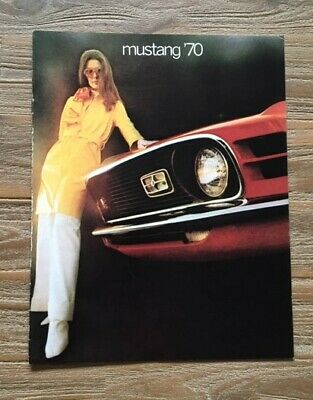 Ford Mustang  1970 Brochure