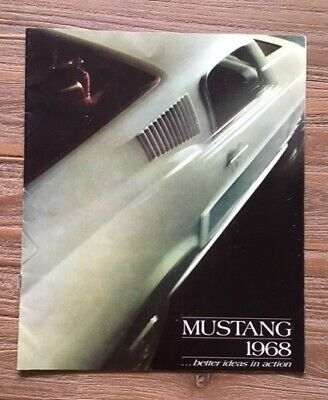 Ford Mustang  1968 Brochure