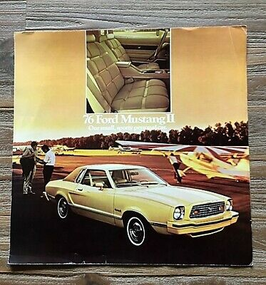 Ford Mustang  1976 Brochure