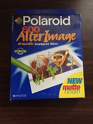 SEALED Polaroid 600 Alter Image Drawable Instant Film 10 Photos Pack EXP 01/00