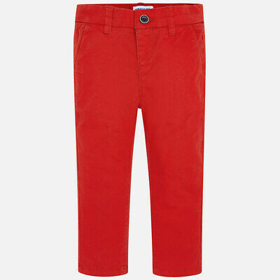 New Boys Mayoral Slim Fit Chino Trousers, Age 2 Years , (512)