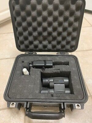 Kahles 8x32 Binoculars & Leica LRF 1200 Rangefinder Combo With Pelican Case-Used