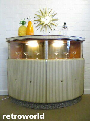 STUNNING Mid Century Vintage Retro 60s 70s Cocktail Drinks Cabinet Bar