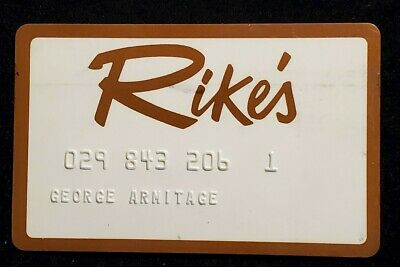 Rike's charge card♡free shipping♡cc1075♡
