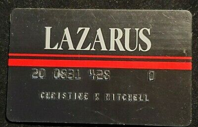 Lazarus charge card ♡Free Shipping♡cc1058♡