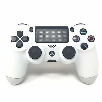 Sony Official Playstation 4 Wireless Controller V2 - Glacier White - PS4