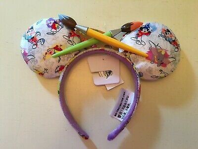 Disney Parks Ink and Paint Minnie Ears - New with tags
