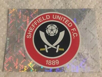 Panini Premier League 2020: Sheffield United Badge Shiny (sticker #463)