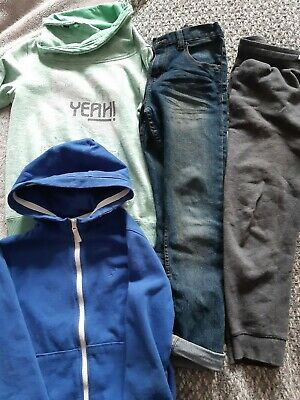 Boys Bundle Of Hoodies/jeans/joggers Age 8-9
