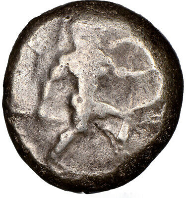Pamphylia Aspendus mid-5th century BC AR stater NGC VG