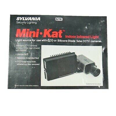 Mini Kat Security Wide Angle Infrared Lighting CCTV CCD Illuminator Ultricon GTE