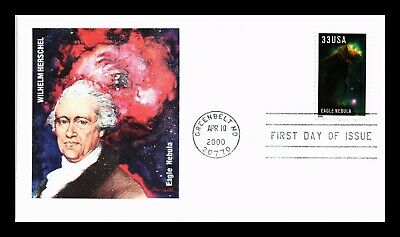 Dr Jim Stamps Us Eagle Nebula Wilhelm Herschel Fleetwood First Day Cover