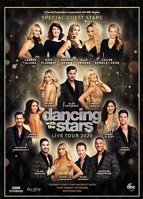 2 Tix Dancing With The Stars: Live! FRONT ROW CENTER PACKAGE! 02/22 Ruth Eckerd