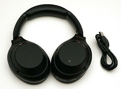 Sony Wh-1000Xm3 Wireless Noise Cancelling Headphones Black Wh-1000Xm3/B