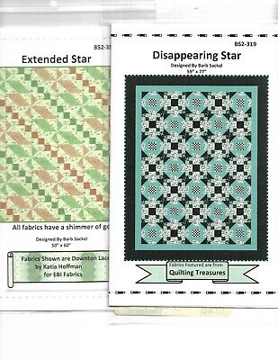 Batch of five quilting patterns