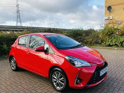 2017 Toyota Yaris 1.5 Icon Automatic Petrol 5dr Hatchback Red
