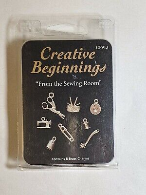 Brass Charms From The Sewing Room Jewelry Crafts