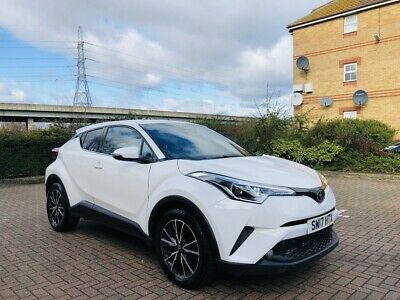 2017 Toyota CHR 1.2T Excel 5dr Manual Petrol White