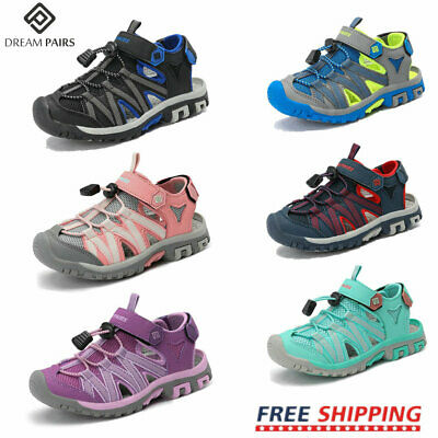 DREAM PAIRS Kids Girls Boys Soft Sole Crib Sandals Toddler Sneakers Shoes Beach