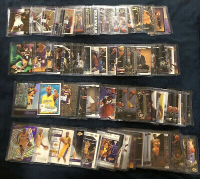 Kobe Bryant - Massive 765-Card Lot Collection Rookies & Inserts - All Toploaded!
