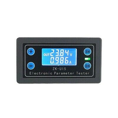 Voltmeter Ammeter Power Capacity Time Low-Voltage Charge Discharge Control top