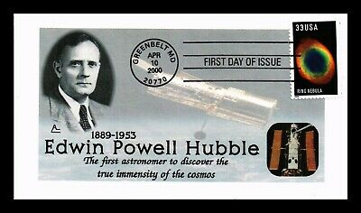 Dr Jim Stamps Us Edwin Powell Hubble Ring Nebula First Day Cover