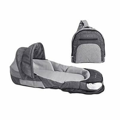 Baby Delight Snuggle Nest Adventure Portable Infant Sleeper | Travel Bed & Bassi