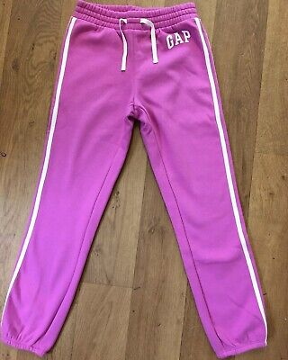 BNWOT GAP KIDS PINK JOGGERS/ TRACKSUIT BOTTOMS ~ Age 10 / Large