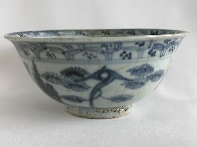 Chinese Ming Dynasty Chenghua 成花 Floral Motif 15th Century Bowl