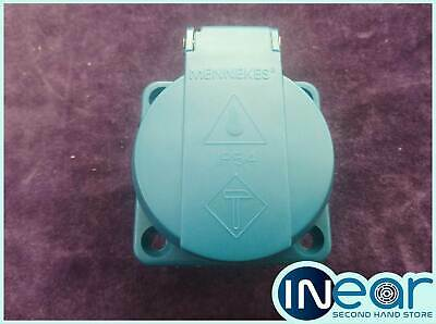 MENNEKES Panel Mounted Socket without Shutter, IP 54 Protection, 2P+E Pole, 16 A