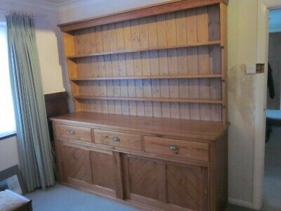 Late Victorian Antique Welsh Dresser late 19th Century
