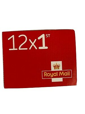 Booklet of 12 First Class Royal Mail stamps