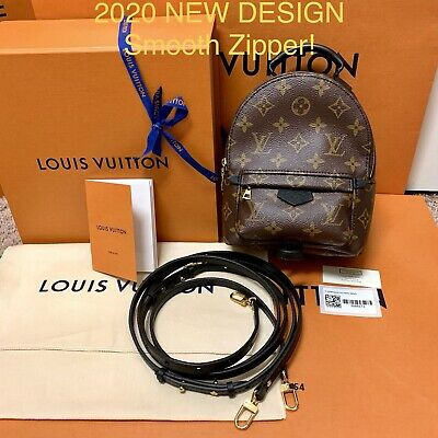 ❤️*New Auth* Louis Vuitton Palm Springs Backpack Mini- New Design 2020 Receipt