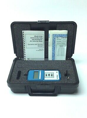 Tsi Incorporated 8340 Intrinsically Safe Velocicheck Air Velocity Meter