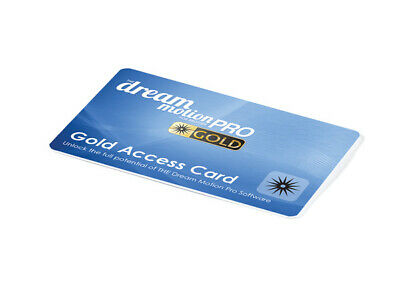 Brother The Dream Motion Embroidery Pro Gold Access Card SAQCDMGOLD