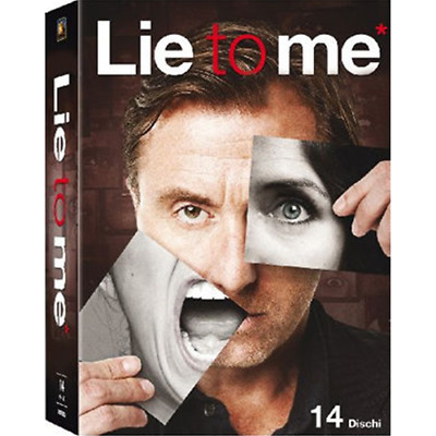 STV *** LIE TO ME - STAGIONI 1-3 (14 Dvd) *** sigillato