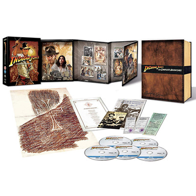 Box * INDIANA JONES  The Complete Adventure - Coll. Edit. (Box 5 Br) * sigillato