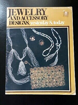 Jewelry And Accessory Designs - Vintage Jewelry Making Book