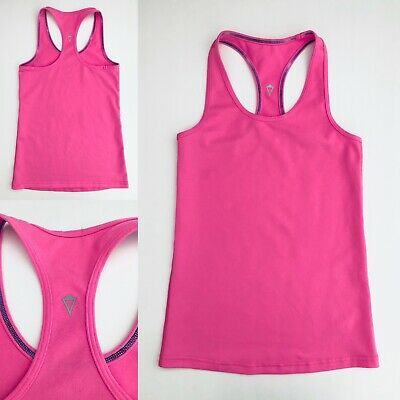 IVIVVA By LULULEMON Girls' Pink Activewear Exercise Tank Top - Size 6