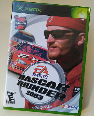 NASCAR Thunder 2003 (Microsoft Xbox, 2002) Dale Earnhardt Jr, Brand New Sealed